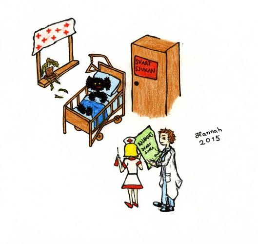 Svartsjukan pa sjukhus