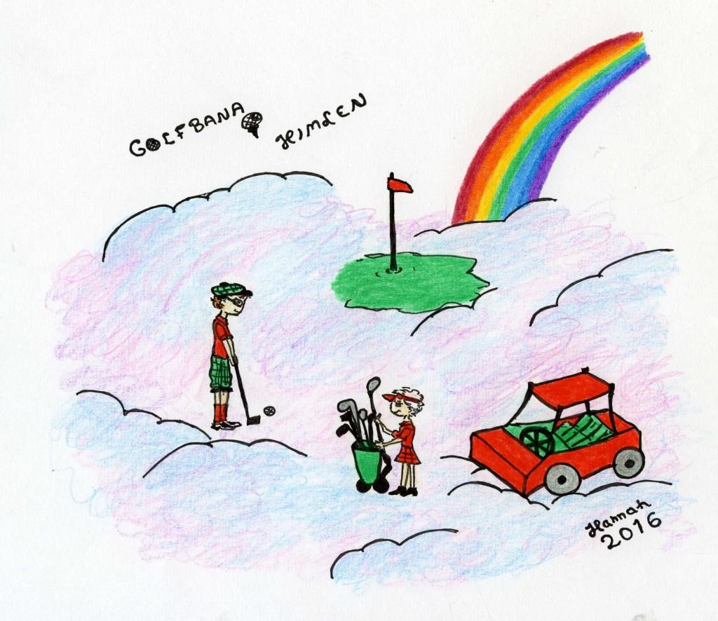 Golfbana i himlen